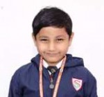 Vedansh(Zonal Gold medal in maths)