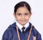 Yashvi (Zonal Gold medal in Maths)